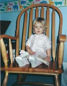 Sierra in rocking chair 001